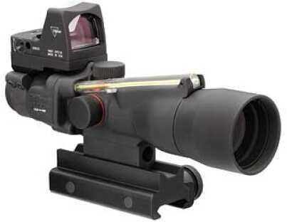 Trijicon ACOG Rifle Scope 3X 30 Amber Horsershoe .223 Matte 3.25 MOA RMR/Ta51 Mnt Ta33-H-RMR