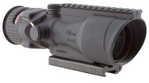 Trijicon ACOG Rifle Scope 6X 48 Red Chevron .308 Flattop Matte Ta75 Adptr Flattop Ta648-308H