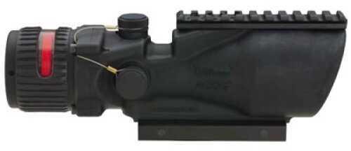 Trijicon ACOG Rifle Scope 6X 48 Red Chevron .223 Flttp Matte Ta75 Adptr Flattop Ta648