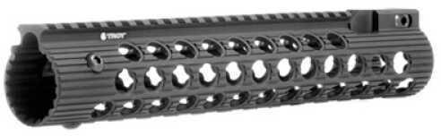 "Troy STRXAL111BT0 Alpha Rail 11"" With Folding Sight Aluminum Black"
