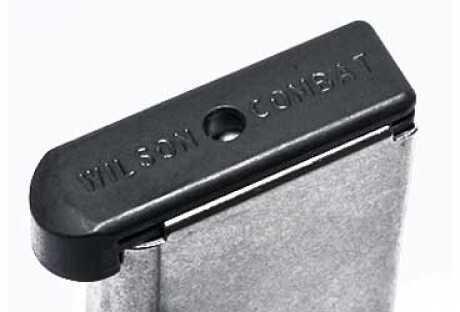 Wilson Combat Base Pad Low Profile Steel Fits 1911 Black 47BLP