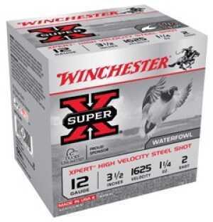 "Winchester Ammo WEX12LM2 Super-X Xpert High Velocity 12 Gauge 3.5"" 1 1/4 Oz 2 Shot 25 Box"