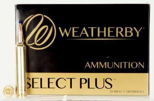 Weatherby Select Plus Ammunition 6.5-300 Weatherby 127 Grain Barnes LRX 20 Round Box B653127LRX