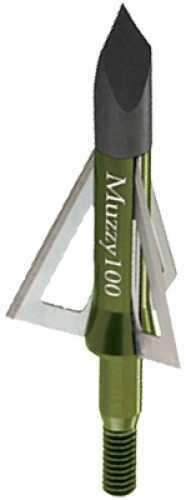 Muzzy Screw-In Broadhead 3 Blade 100 gr. 6 pk. Model: 225