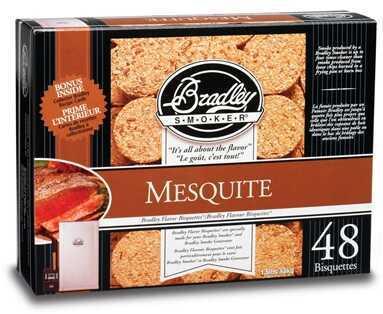 Bradley Mesquite Bisquettes 48 Pack