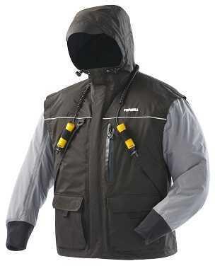 Frabill IncFrabill Jacket I2 Black/Heather Grey 2Xl