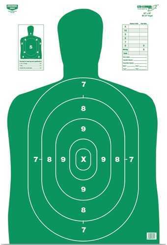 "Birchwood Casey Eze-Scorer Bc27 Green 12""X18"" Paper-10 Targets Md: 37204"