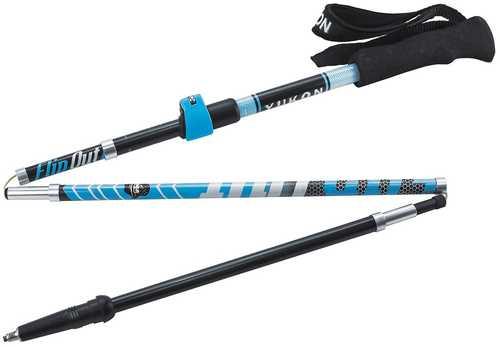 Yukon Charlies FlipOut Trekking Pole - Carbon-Blue/Gray