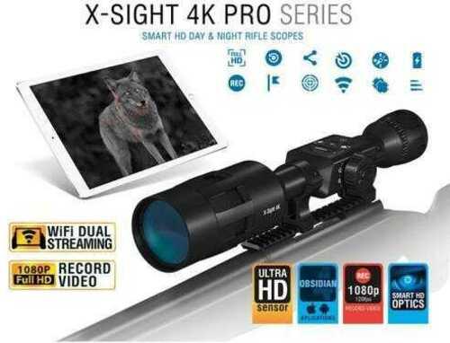 ATN X-Sight-4k 5-20x Pro Edition Smart Hunting Rifle Scope