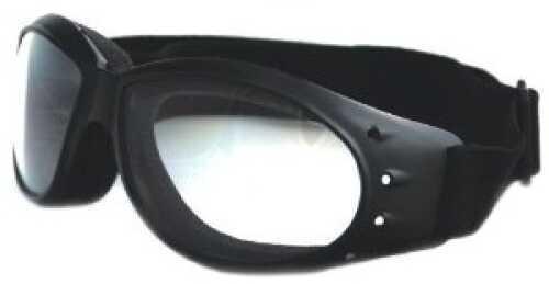 Bobster Cruiser Goggles Black Frame AntiFog Clear Lens
