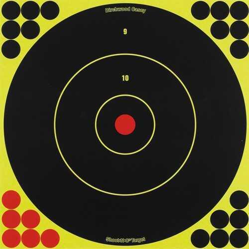 """Birchwood Casey Shoot-N-C 12"""" Bull's-Eye Target - 12 Targets"""