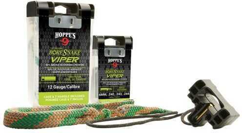 Hoppes 24000Vd Boresnake Viper Den Bore Cleaner Rope 22 Cal