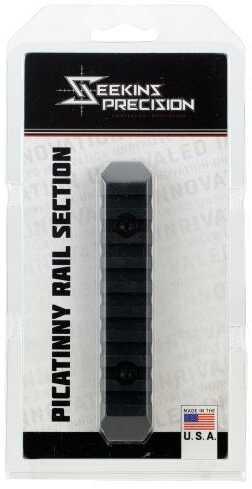 Seekins Precision M-LOK 9 Slot Rail Section Aluminum Black Finish 0010560081