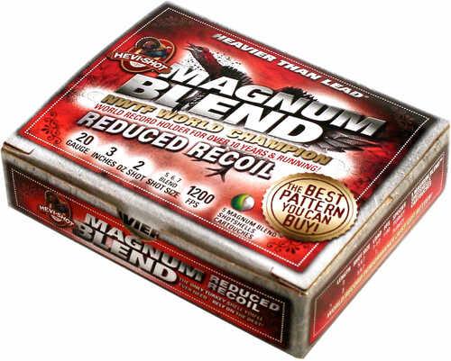 """Hevishot 2567 Magnum Blend Reduced Recoil 12 Gauge 3"""" 2 Oz 5,6,7 Shot 5 Per Box"""