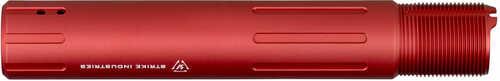 Strike Industries Carbine Length Pistol Receiver Extension QD Connection Aluminum Red