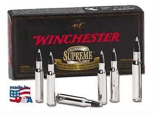 Winchester 25 Winchester Super Short Mag 85 Grain Supreme Ballistic Silvertip Ammunition Md: SBST25WSS
