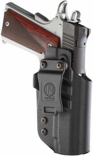 1791 Gunleather TACIWB1911BLKR Tactical Kydex 1911 Government wo/Rail Kydex Black