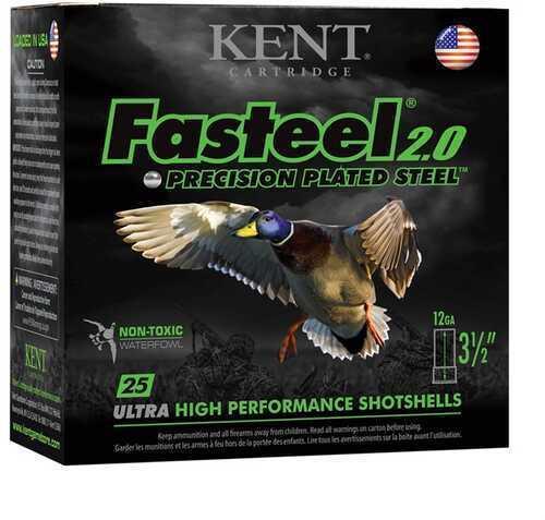 "Kent Cartridge Fasteel 2.0 12 Gauge 3"" 1-1/8 Oz 6 Shot Box of 25 Shotshells"