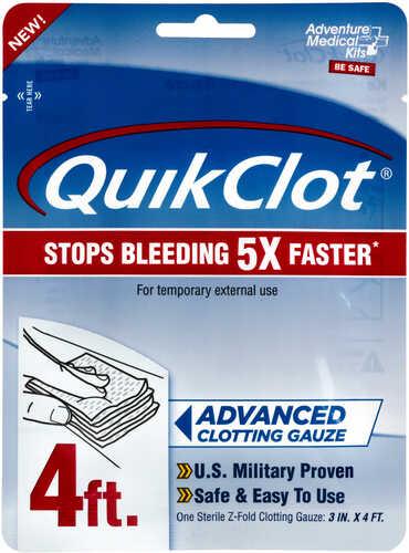 """Adventure Medical Kits 50200026 QuikClot Clotting Gauze 3"""" X 48"""""""