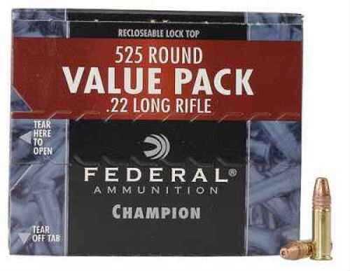 FederalFederal Champion Ammunition 22LR HV 36 Grain HP 525Bx