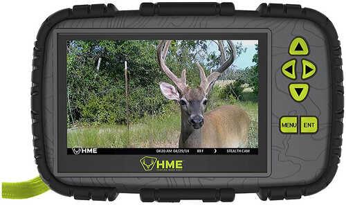 "HME SD CARD READER/VIEWER 4.3"" LCD"