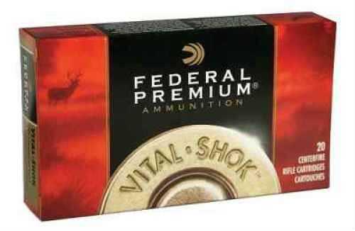 Federal 270 Winchester 130 Grain Nosler Partition V-Shok Per 20 Ammunition Md: P270P