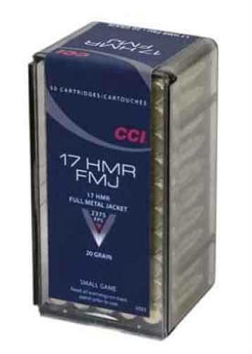 CCI Ammo 17 HMR 20Gr TNT Per 50