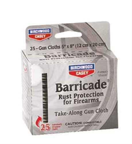Birchwood Casey Barricade Rust Preventive 25 Take Along Packets Md: 33025