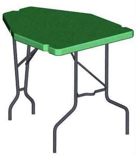 MTM Predator Shooting Table - Portable Benchrest Green Pst-11