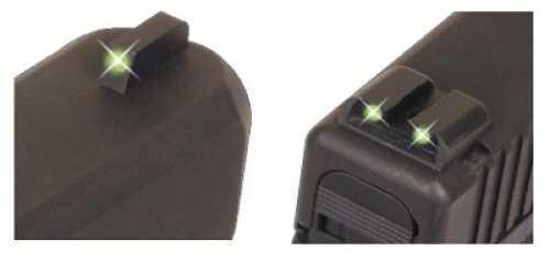 Truglo Brite Site Tritium Handgun Sight Set Sig #8 Front / #8 Rear Md: TG231S1