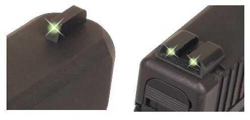 Truglo Brite Site Tritium Handgun Sight Set Sig #6 Front / #8 Rear Md: TG231S2