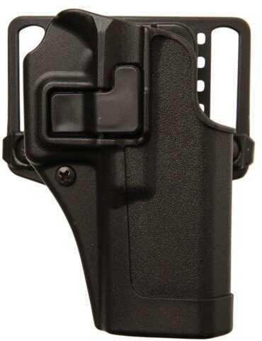 Blackhawk 410565BKR Serpa CQC Concealment Matte Springfield XD-S 3.3 Polymer Black