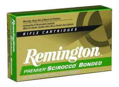 Remington 300 Winchester Short Magnum 180 Grain Premier Swift Scirocco Bonded Ammunition Md: PRSC300WSMB