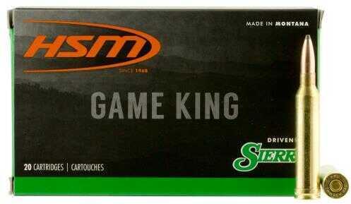 HSM 7MMMAG21N Game King 7mm Rem Mag 140 Grain SBT 20 Bx/ 20 Cs