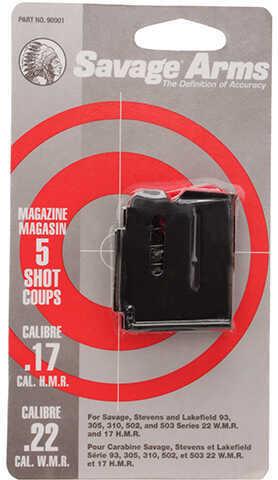 Savage Magazine Box 90 Series, 5 Shot, Blued Md: 90001