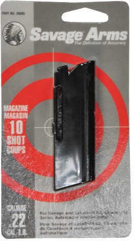 Savage 60 Series Magazine 10 Shot, 22 LR, Blued Md: 30005