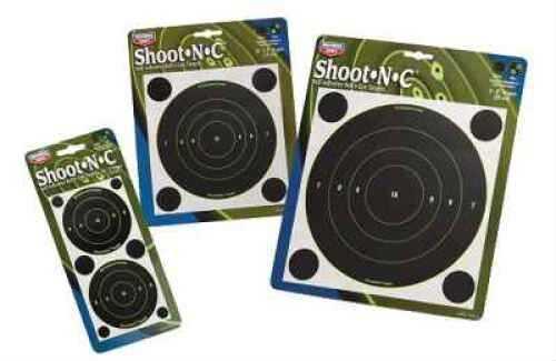 "Birchwood Casey Shoot-N-C Targets: Bull's-Eye 8"" Round Target Per 6 Md: 34805"