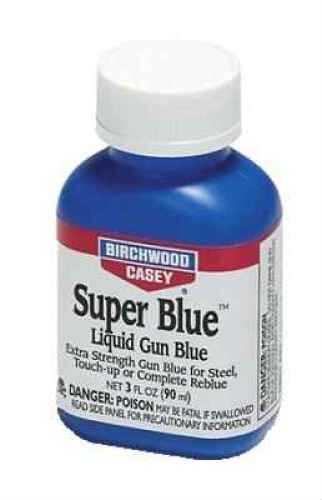 Birchwood Casey Super Blue Liquid Gun Blue, 3Oz Md: 13425