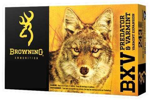 Browning BXV Predator and Varmint 223 Remington 50 Grains Polymer Tip Ammunition, 20 Rounds Per Box Md: B192302231
