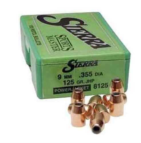 "Sierra 38Cal 140Gr JHC .357"" 100/Box Bullets"