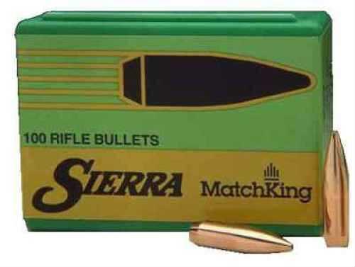 Sierra Matchking 257 Caliber 100 Grains HPBT Per 100 Md: 1628 Bullets