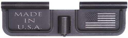 Spikes SED7002 Ejection Port Door AR-15 Laser-Engraved USA/Flag Steel Black