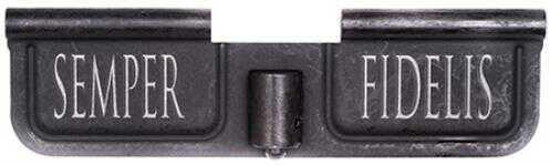 Spike's Tactical Ejection Port Door AR-15 Laser-Engraved Semper Fidelis, Steel Black Md: SED7008
