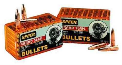 Speer 338 Caliber 250 Grains SP Grand Slam Per 50 Md: 2408 Bullets