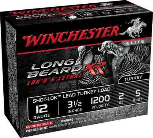 Win 12 Gauge Ammo Long BeaRd XR 2-3/4'' #6 Shot 10Rd/Box 10Box/Case