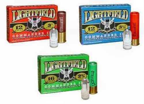 """Lightfield Commander 16 Ga 2 3/4"""" 7/8 Oz, Impact Discarding Slug Ammunition"""