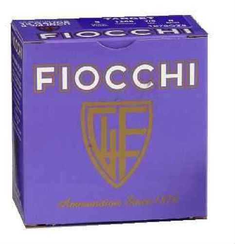 "Fiocchi Premium Target 20 Ga. 2 3/4"" 7/8 Oz #8 Lead Shot 25 Rounds Per Box Ammunition Md: 20VIPH Case Price 250 Rounds"