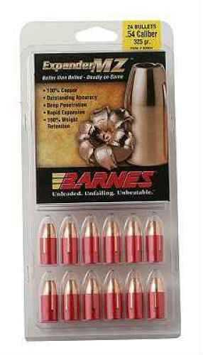 Barnes 45 Caliber Expander MZ Bullets Expander MZ, 195 Grain Per 24 Md: 40052