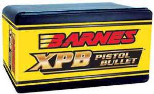 Barnes 454 Caliber 250 Grain X Pistol Bullet Per 20 Md: 45123