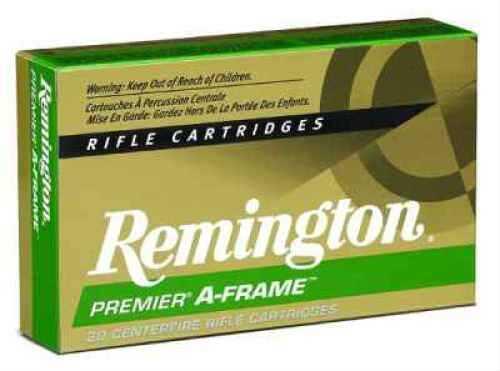 RemingtonRemington 7MM Remington Ultra Magnum 175 Grain A-Frame Pointed Soft Point Ammunition 20 Rounds Per Box Md: Pr7Um5